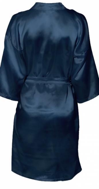 Шелковый мужской халат с вышивкой в подарок